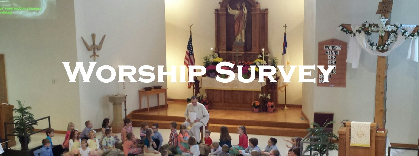 Take Our Worship Survey!